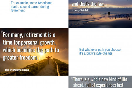 Retirement Quotes: Inspirational and Funny Retirement Sayings Infographic