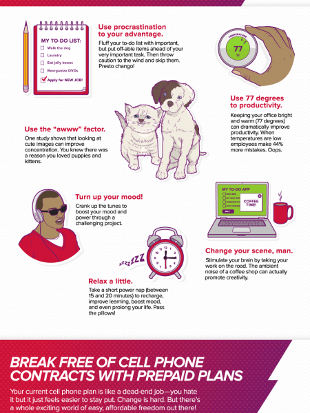 Retrain Your Brain Infographic