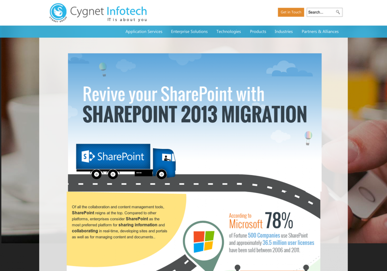 Revive your Sharepoint with SharePoint 2013 Migration Infographic