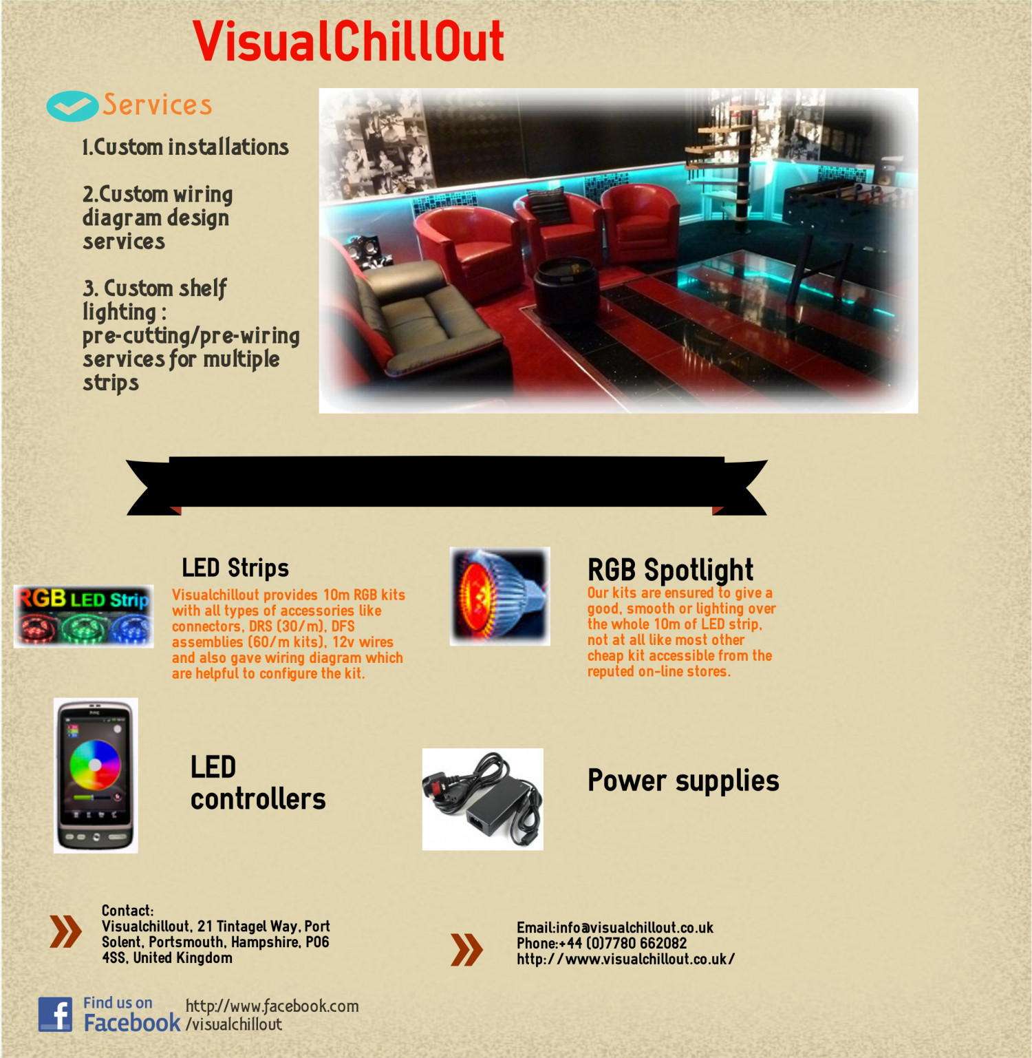 Rgb Led Lighting Visualchillout 12v Wiring Diagram For Infographic