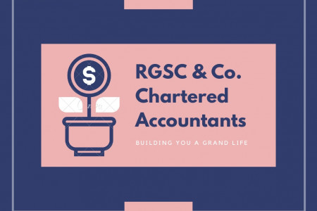 RGSC & Co. Chartered Accountants- Building You a Grand Life Infographic