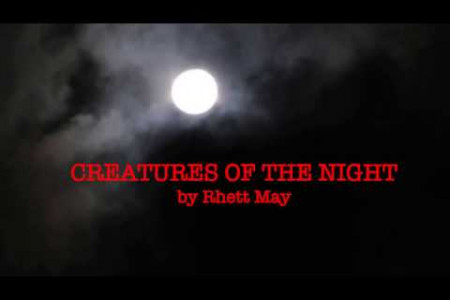 Rhett May - Creatures of the Night Infographic
