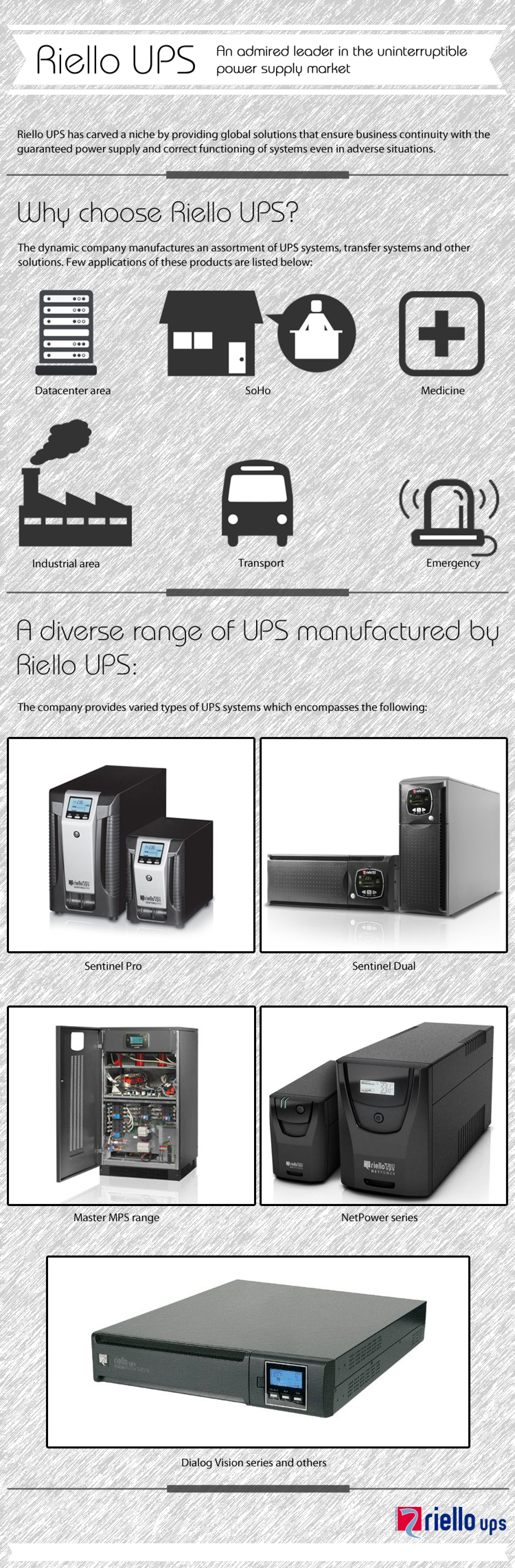 Riello UPS An admired leader in the uninterruptible power supply