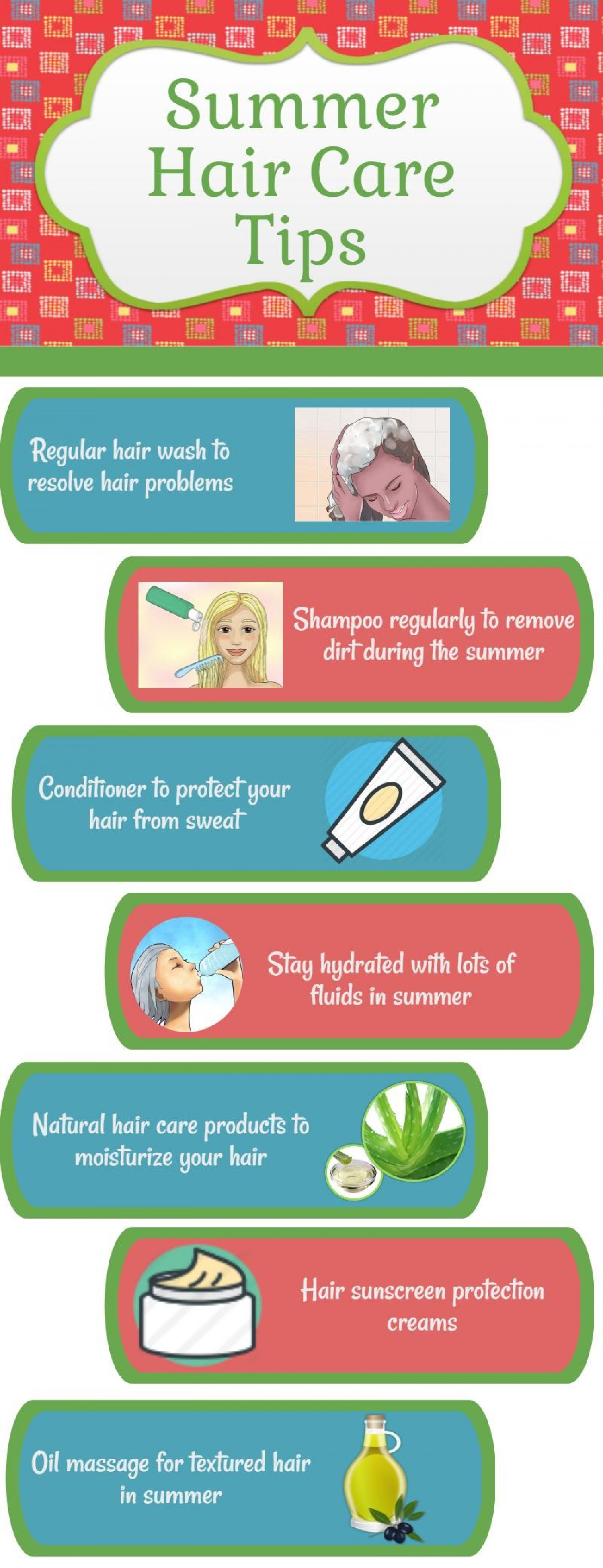 Hair Summer protection tips exclusive photo