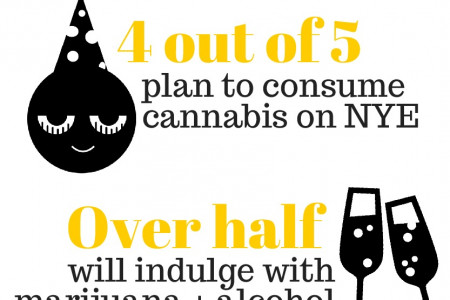 Ringing in New Years 2016 with Cannabis Infographic