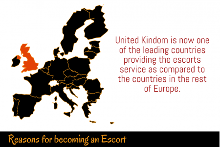Rise of Escorts in UK Infographic