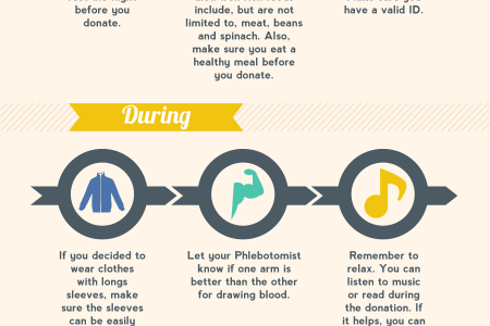 Road Map For a Successful Blood Donation Infographic
