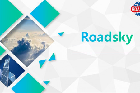 Roadsky Traffic Safety Company Introduction Infographic