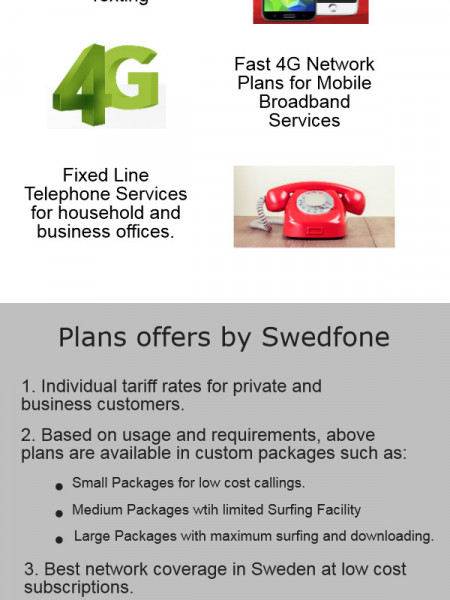 Roam carefree with Swedfone in Sweden Infographic