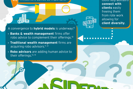 Robo Advice: From Challenger to Stepping Stone Infographic