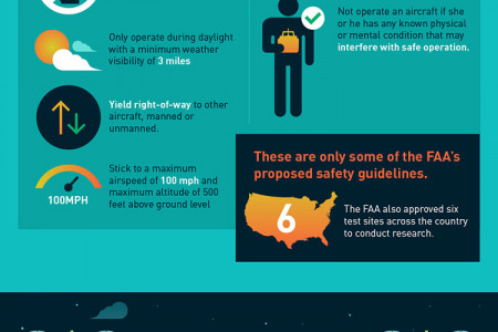 Robots in the Sky: Cracking Down on Drone Law Infographic