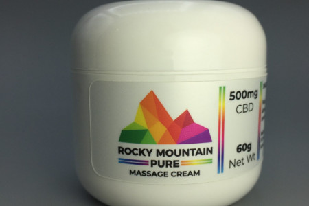 Rocky Mountain Pure CBD Wellness Products. Infographic