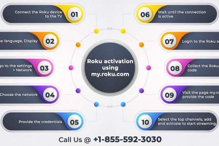 Roku – A Convenient Streaming Platform Infographic