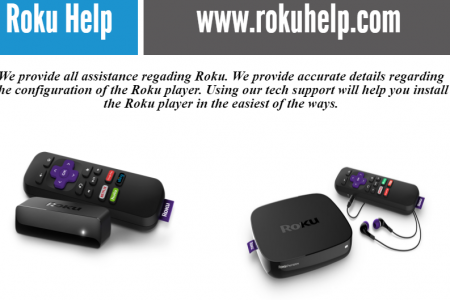 Roku com Call +1-844-305-0086 Infographic