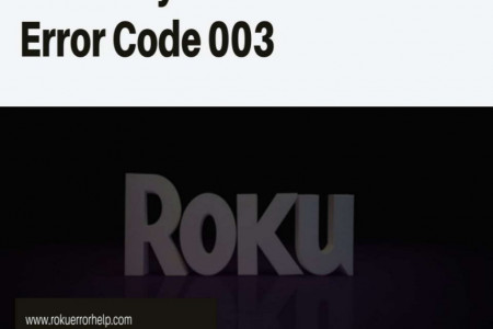 Roku TV Error Code 003 | Dial +1-888-480-0288 Infographic
