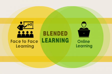 Role of Blended Learning in Education Infographic