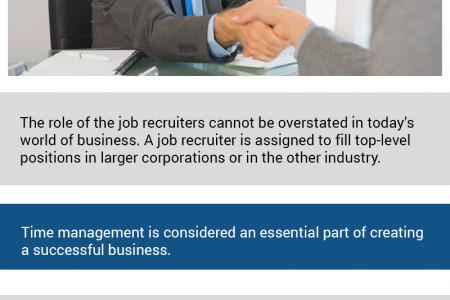 Role of Job Recruiters Infographic
