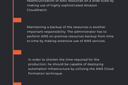 Roles And Responsibility Of AWS Administrator Infographic