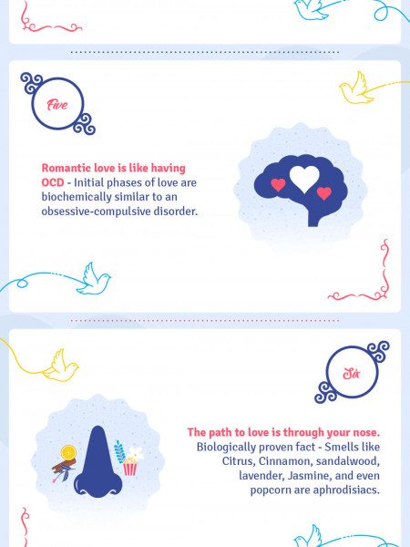 Romance Is A Little Bizarre Infographic