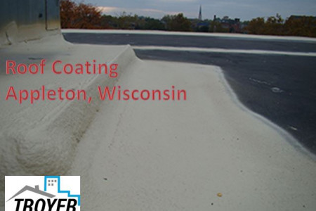 Roof Coating Appleton, Wisconsin Infographic
