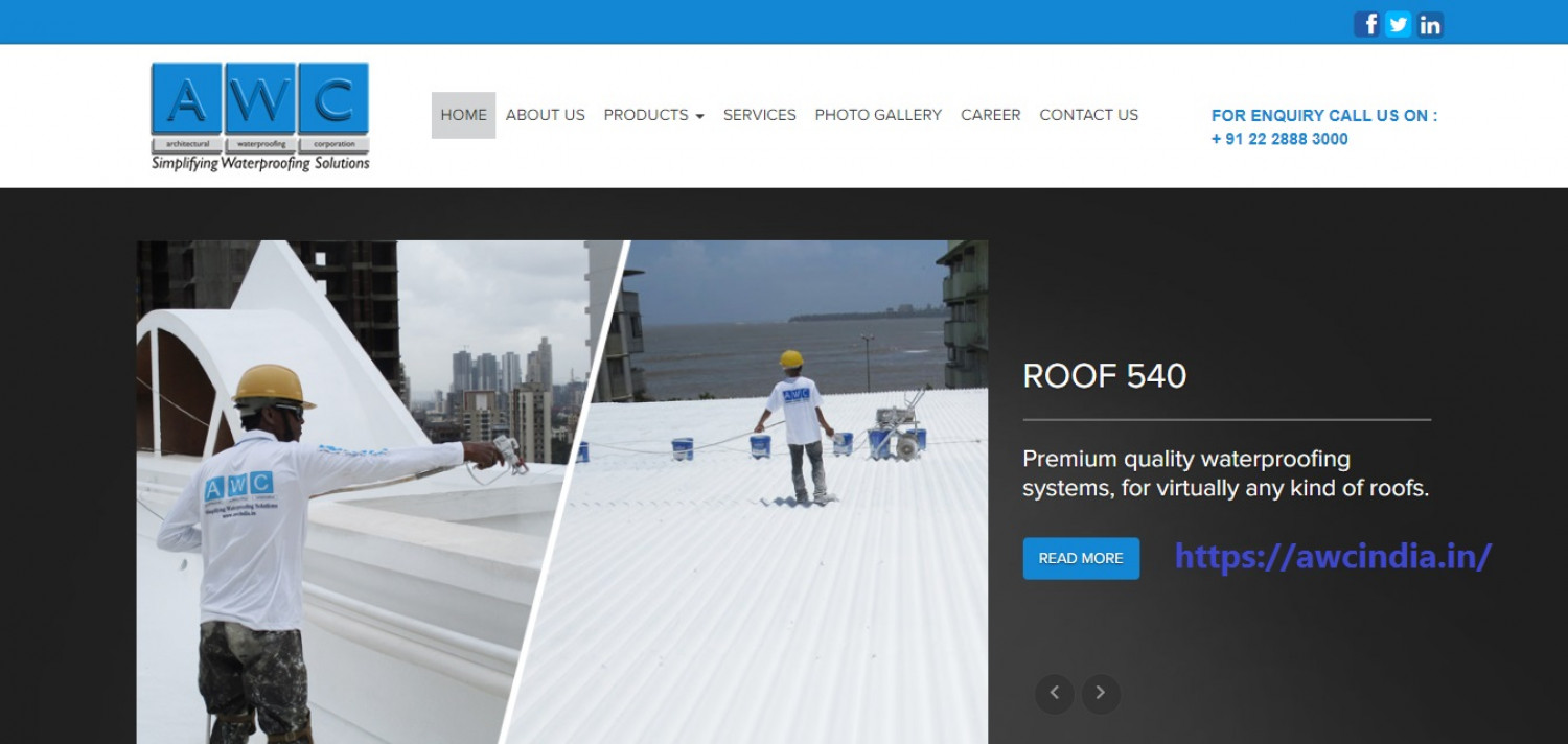 roof leakage solutions in india Infographic