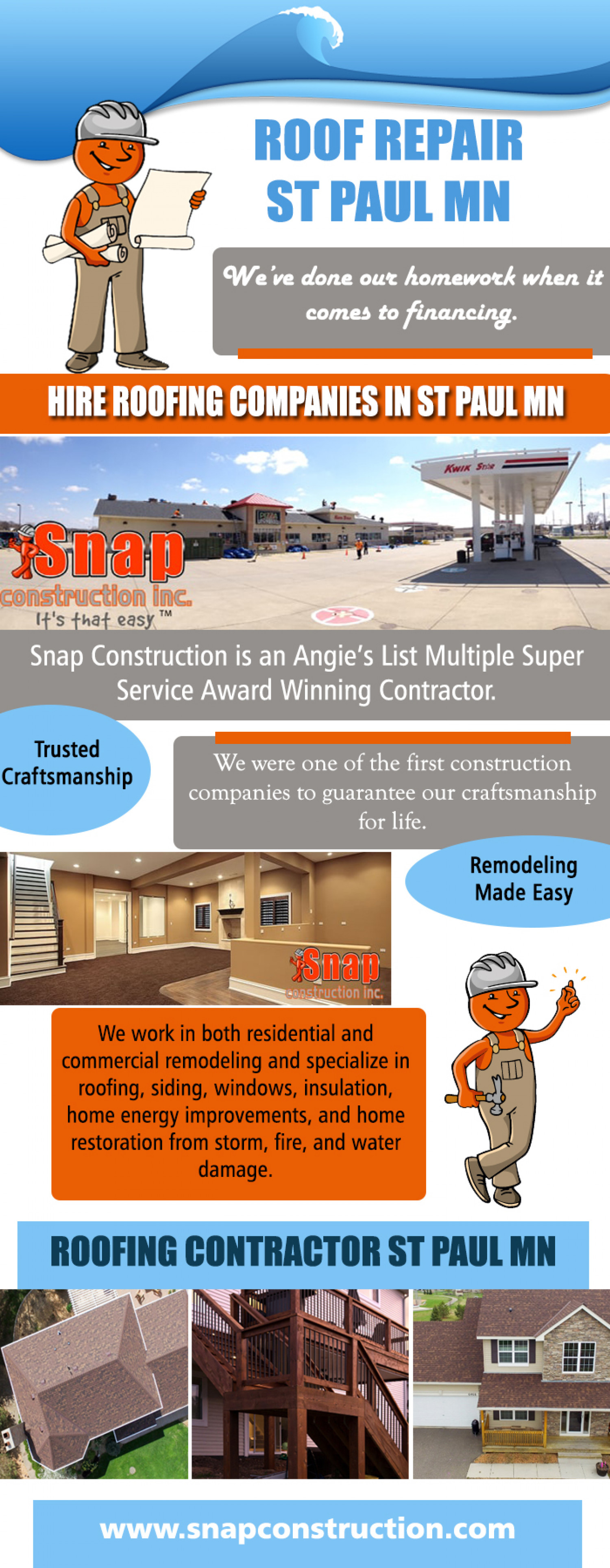 Roof Repair St Paul MN Infographic