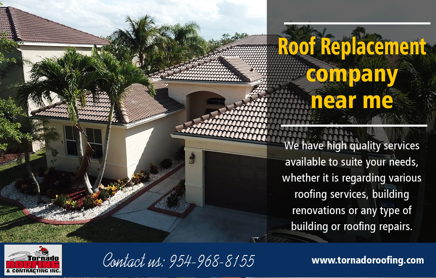 Roof Replacement Company near me Infographic