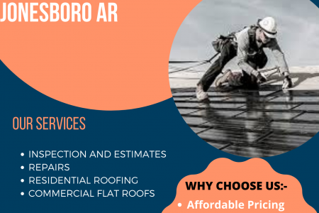 Roofing contractors Jonesboro, AR - Midsouth Roof Consultants Infographic
