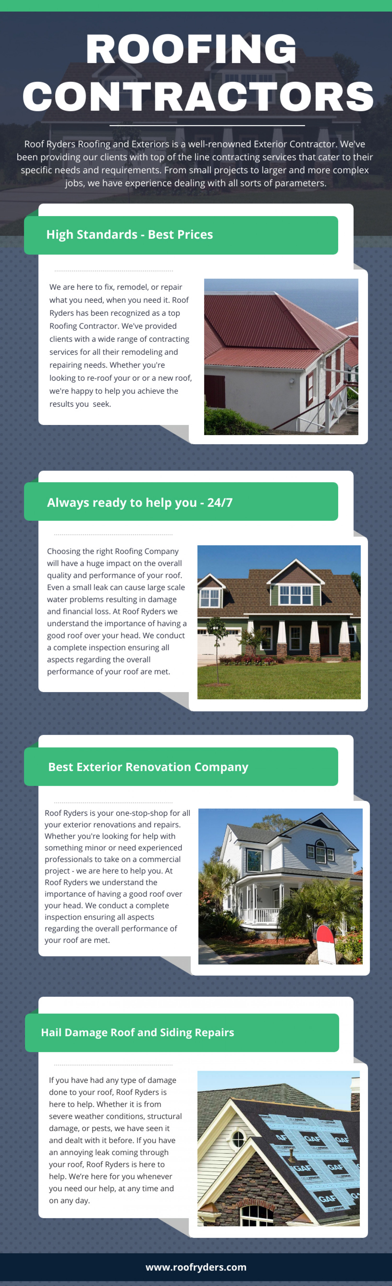 Roofing Contractors Infographic