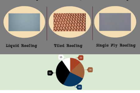 Roofing Materials and Durability for your House and Building Infographic