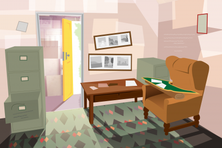 Rooms of Cultural Significance: Roald Dahl  Infographic