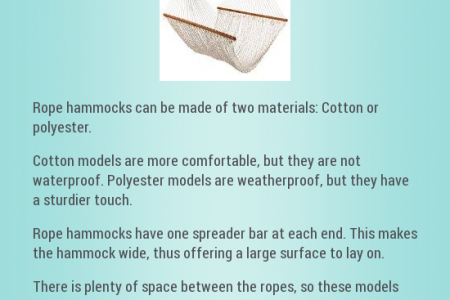 Rope Hammocks Infographic