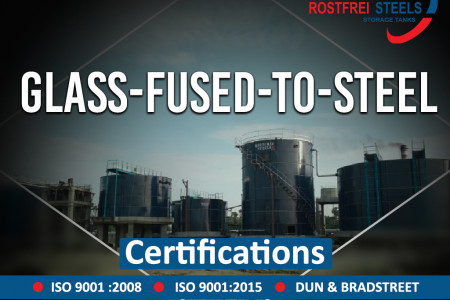 Rostfrei Steels Manufacture Glass Fused to Steel Tank & Supply it in Various Countries  Infographic