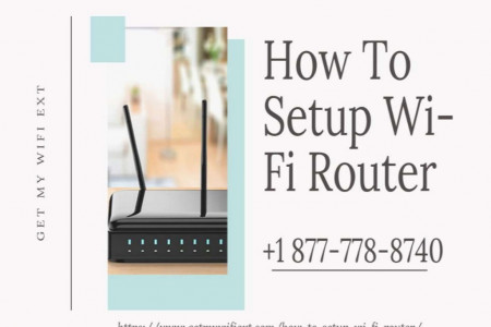Router Setup Services 24/7 Call +1 877-778-8740 Infographic