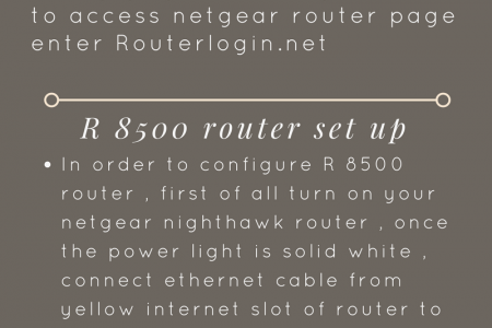 Routerlogin.net Infographic