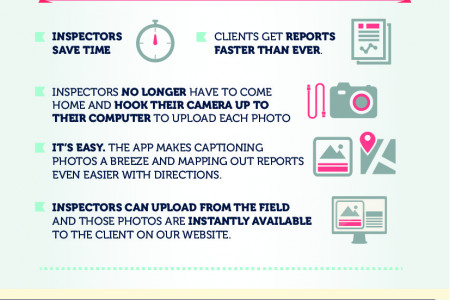 RSI Inspections iPhone and iPad app  Infographic