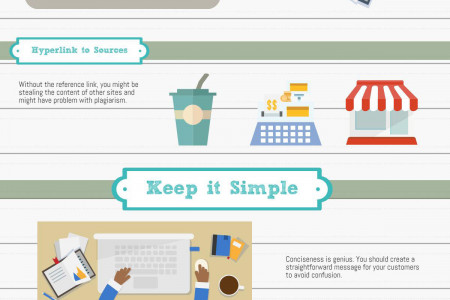 Rules of Content Writing Infographic