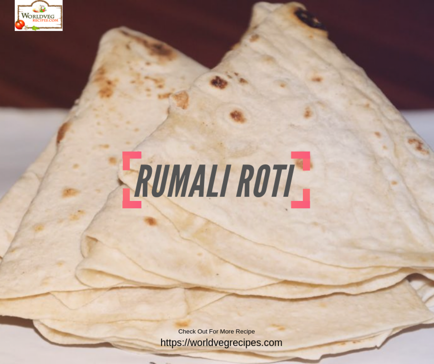 Rumali Roti Recipe | Easy Roti Recipe Infographic