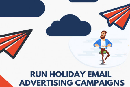 Run Successful email advertising campaign with perfect startegy Infographic