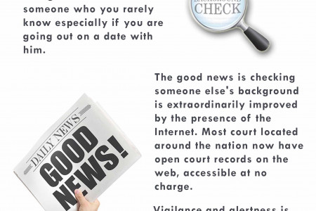 Running a Background Check on Someone You're Meeting for the First Time  Infographic