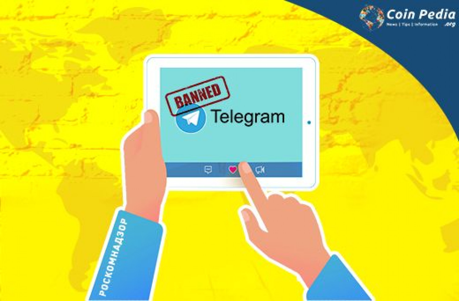Russian Court Bans Telegram, Founder's Insolent Infographic
