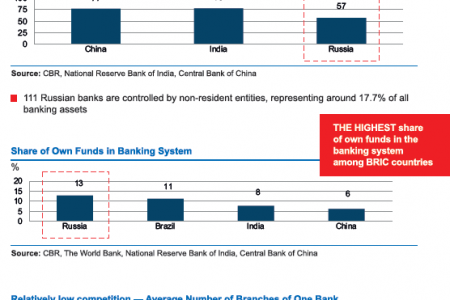 Russian Federation :  Russian Banking System Infographic