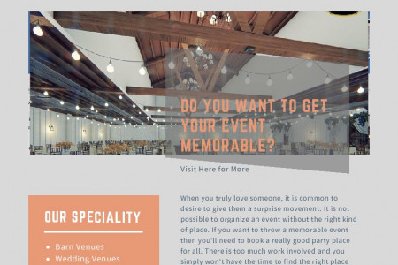 Rustic Barn Wedding Venues in Florida Infographic