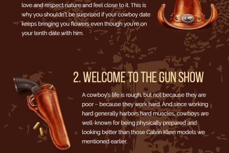 Saddle Up! 4 Awesome Reasons Why Dating Cowboys is Great Infographic