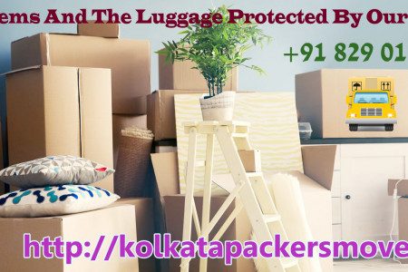 Safe And Affordable Shifting Services @ Packers and Movers Kolkata Infographic