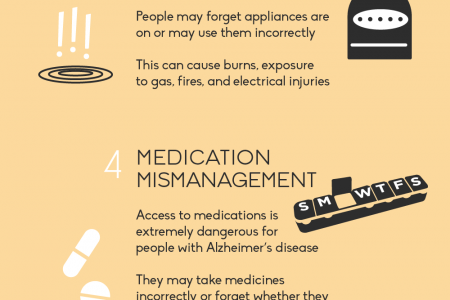 Safety Concerns for Your Loved One with Alzheimer's Disease Infographic