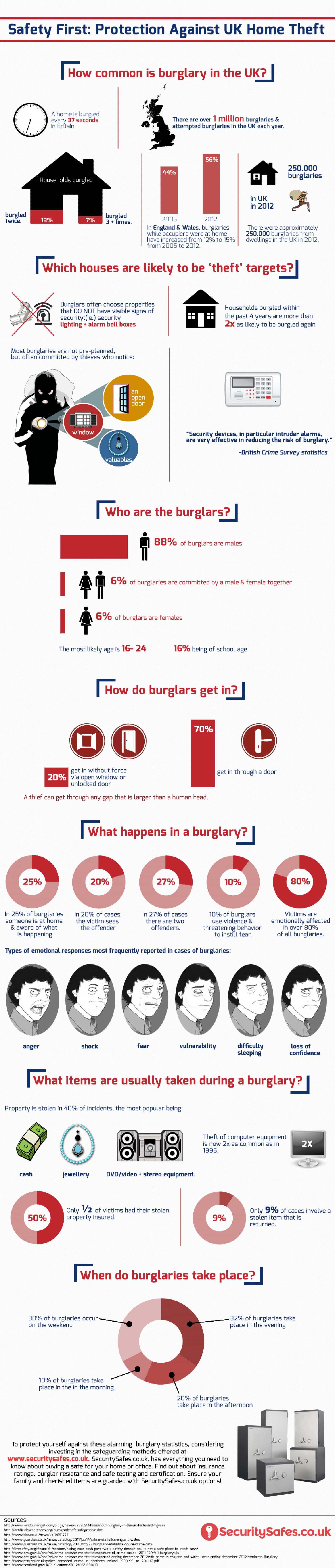 Safety First: Protection Against UK Home Theft Infographic