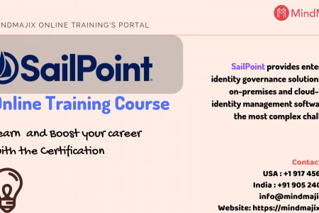 SailPoint Online Training Course- Mindmajix Infographic