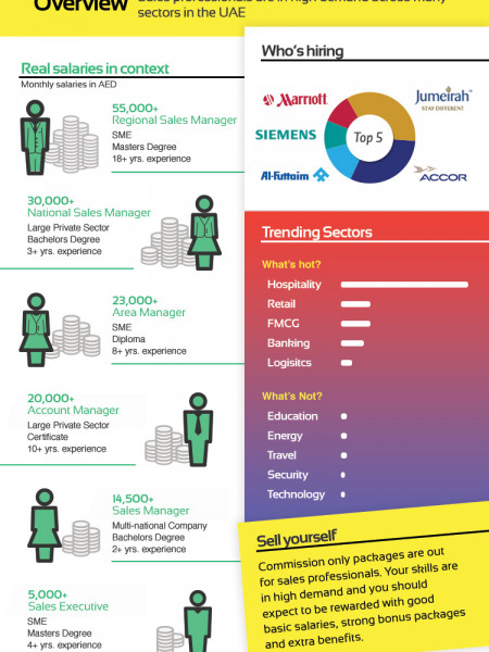 High Sales Personnel Targets For Employers Infographic