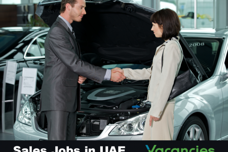 Sales jobs in UAE Infographic